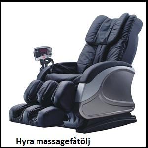 hyra massagefåtölj